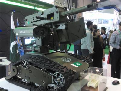 For the first time in history, Pakistan Army unveils indigenous built state of the art battle Robots