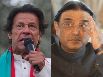 Former President Asif Zardari hints at fall of PTI government
