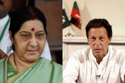 Frustrated over Pakistan FM remarks, Sushma Swaraj makes an urge to PM Imran Khan
