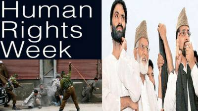 Human Rights week to be observed in Occupied Kashmir