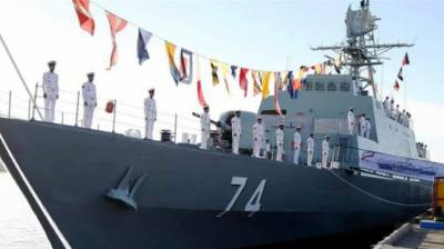 Iran unveils new domestically made warship