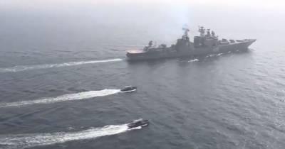 Pakistani, Russian Navies conduct exercises in North Arabian Sea