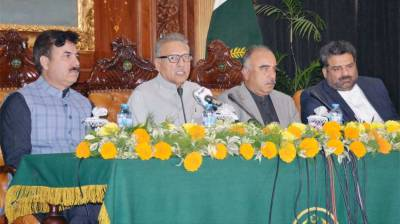 President lauds sacrifices rendered by people of KP, tribal districts