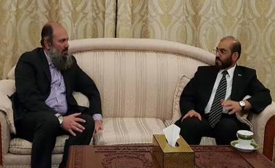 Balochistan CM meets Dr Jumma Khan Marri in Moscow, vow to fight anti state elements jointly