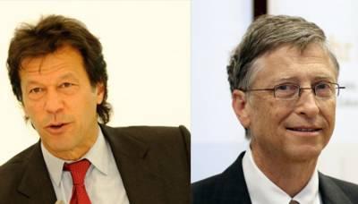 Bill Gates is all praise for Pakistan PM Imran Khan