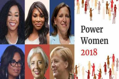 Forbes unveil annual list of 100 most powerful women in 2018