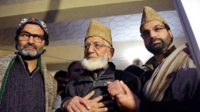 Hurriyat leaders condemns crackdown of Indian forces on pro-freedom leaders