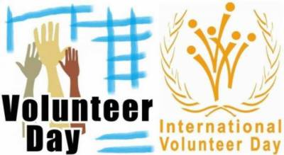 Int'l Volunteer Day being observed today