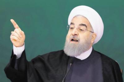 Iran's Rouhani threatens to cut off Gulf oil