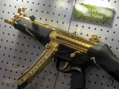 Pakistan's gold plated Gun shines at Egypt Defence Expo