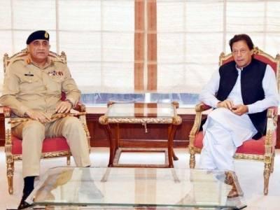 PM Imran Khan - COAS General Bajwa hold important meeting