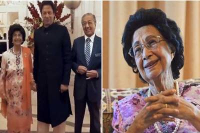 Malaysian First lady finally reveals why she held PM Imran Khan's hand?