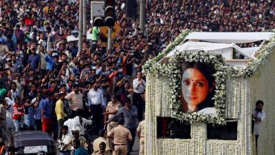 Throwback video reveals the cause of death of legendry actress Sridevi