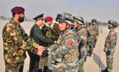 Pakistan Chinese Militaries three weeks counter terrorism exercise kicks off