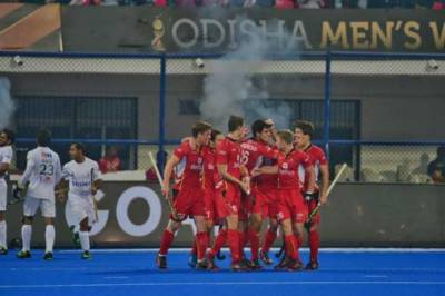 Belgium thrashes Pakistan out of the Hockey World Cup Race