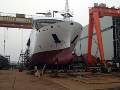 State of the Art advanced ship manufactured by Pakistan Navy in collaboration with China
