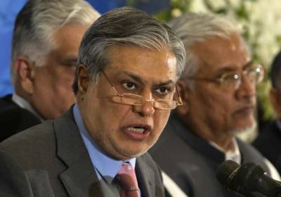 Disgruntled Ishaq Dar takes credit for steps taken to recover Pakistan looted money
