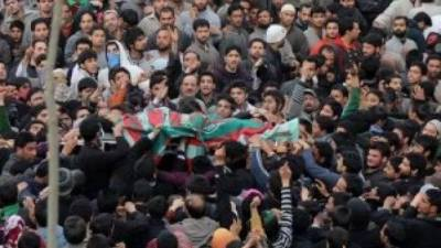 Indian troops martyr two Kashmiri youth in IOK