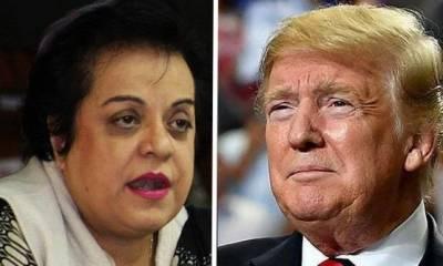President Donald Trump gets a snub from Pakistani Human Rights Minister