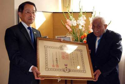 Government of Japan conferred prestigious award upon Pakistan's Dr Muhammad Amin
