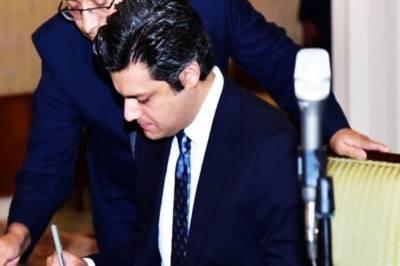 Rupee devaluation put no extra burden on foreign debt: Hammad Azhar