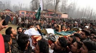 Indian troops martyr 10 Kashmiri youth in Pulwama