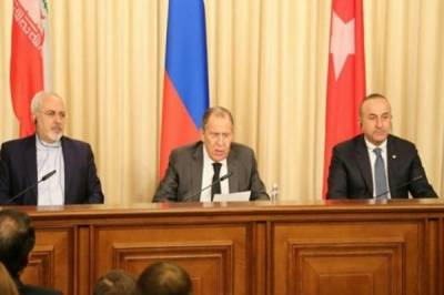 FMs of Russia, Iran, Turkey meeting in Geneva today to discuss Syrian issue