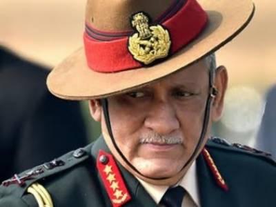 Indian Army Chief General Bipin Rawat slammed back at home