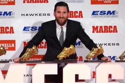 Legendry footballer Lionel Messi makes history