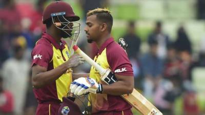 West Indies beat Bangladesh by eight wickets in first T20I