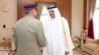 Emir of Qatar lauds Pakistan's efforts for regional stability