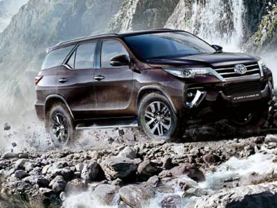 Indus Motors introduces new Toyota Fortuner Sigma 4