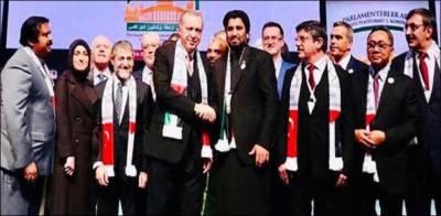 Pakistan raises a strong voice for Palestine at International forum