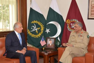 US special envoy Zalmay Khalilzad holds important meeting with COAS General Bajwa