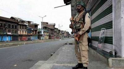 Complete shutdown in Occupied Kashmir for consecutive sixth day against Indian troops