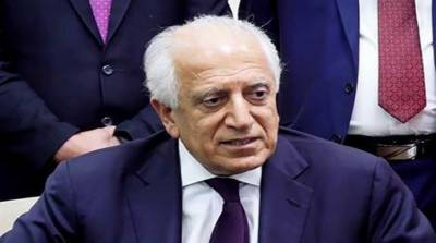 Khalilzad arrives in Kabul to hold talks with Afghan leadership