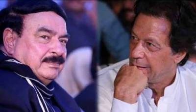 Light clash of words reported between PM Imran Khan and Sheikh Rashid Ahmed in cabinet meeting