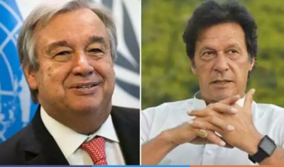 PM Imran Khan held emergency contact with UN Chief