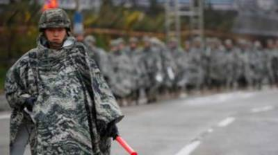 South Korea wants smaller military drills with US