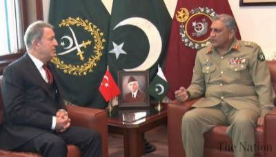 Turkish Defence Minister holds important meeting with COAS General Bajwa
