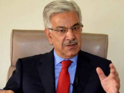 Khawaja Asif responds over media reports of fleeing abroad due fear of NAB arrest