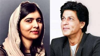 Pakistan's Nobel laureate Malala Yousafzai is all praise for Shah Rukh Khan