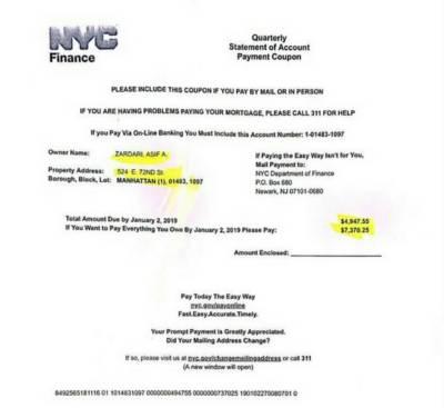 PTI exposes former President Asif Zardari New York Flat documents on twitter