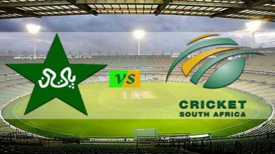1st Test: Pakistan to face South Africa today