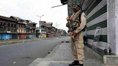 Occupied Kashmir: Complete shutdown for fourth successive day