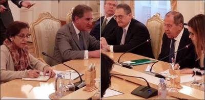 Pakistan Russia discuss Afghanistan endgame in Moscow talks