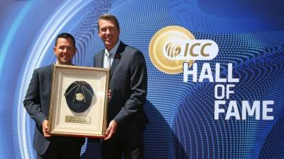 Ricky Ponting formally inducted into ICC Hall of Fame