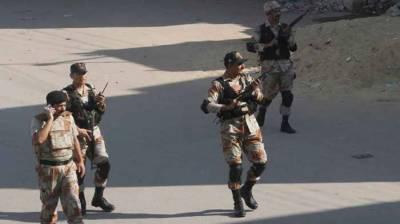 Rangers arrest 13 accused in Karachi