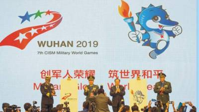 China to hold one of the largest ever Military games, over 10,000 personnel from 93 states