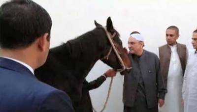Asif Zardari received unique gift from party leaders